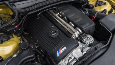 BMW M3 E46: il motore sei cilindri in linea aspirato di 3.246 cc
