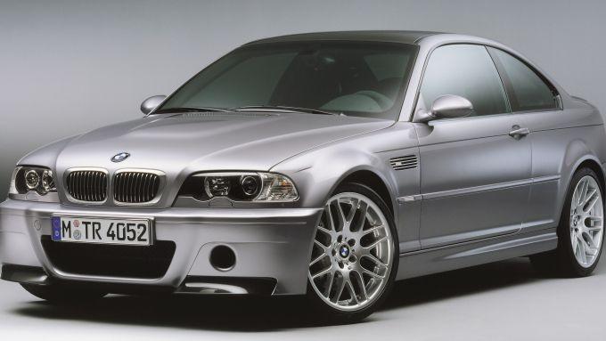 BMW M3 E46: la versione CSL più potente e leggera. Molto rara sul mercato dell'usato