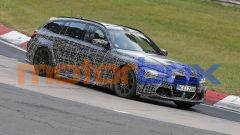 Foto spia di nuova BMW M3 Touring station wagon. Quando arriva, com'è fatta