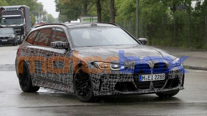 BMW M3 Touring, prime foto spia