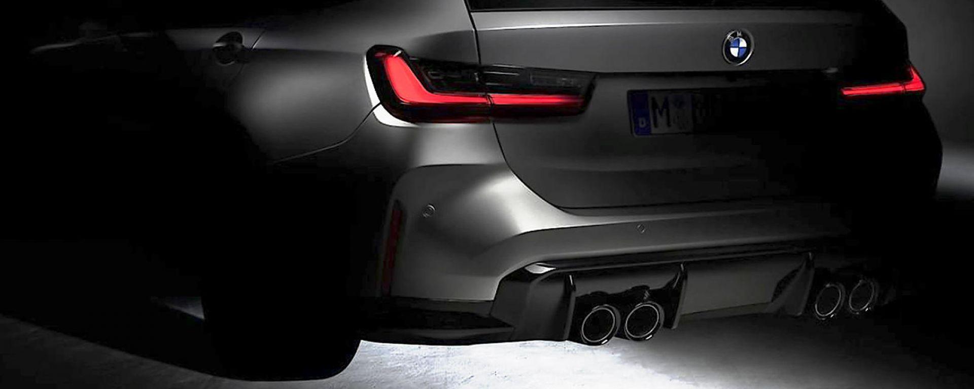 BMW M3 Touring, primo teaser