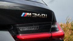 BMW M340i xDrive Touring, il logo posteriore