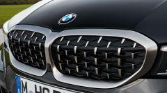 BMW M340i xDrive Touring, la calandra a doppio rene