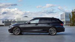 BMW M340i xDrive Touring, la fiancata