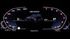 BMW M340i xDrive Touring, quadro strumenti digitale