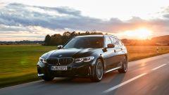 BMW M340i xDrive Touring, vista 3/4 anteriore