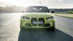 BMW M4 2021: il frontale
