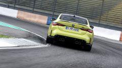 BMW M4 2021: il posteriore