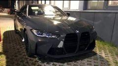 BMW M4 2021: la prima foto del frontale senza camuffature