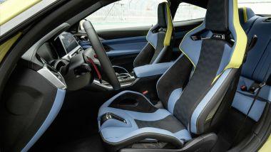 BMW M4 2021: l'abitacolo
