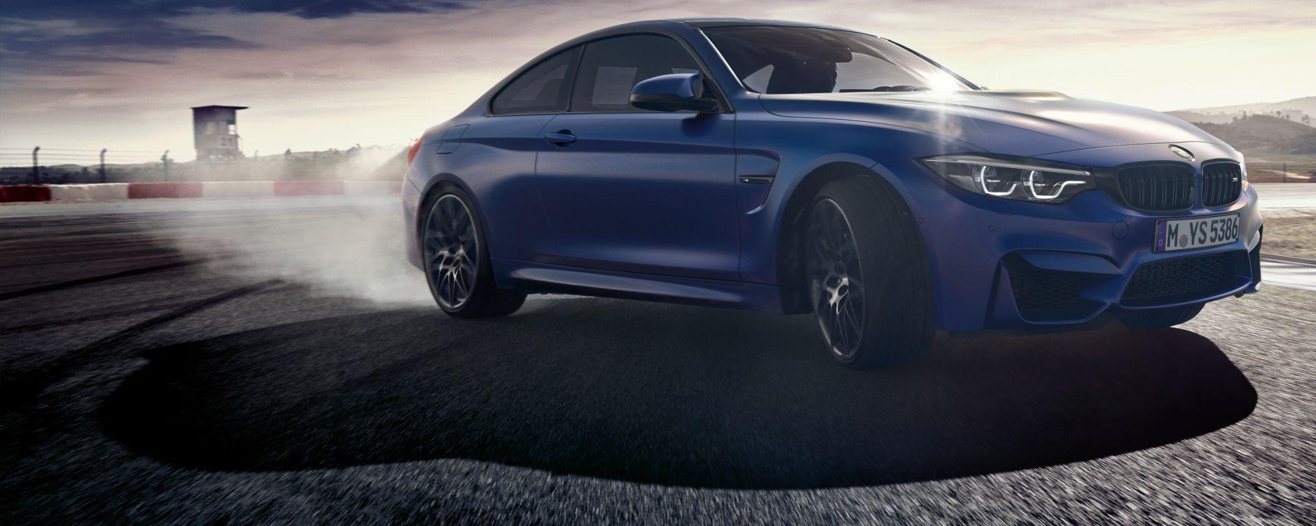 BMW M4 Competition, 6 cilindri biturbo da 450 cv