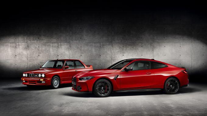 BMW M4 Competition Coupé: a confronto con la sua antenata M3 E30