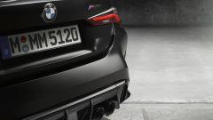 BMW M4 Competition Coupé: un dettaglio della coda