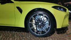 BMW M4 Competition, i cerchi in lega