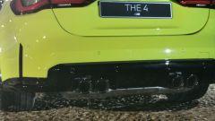 BMW M4 Competition, i terminali di scarico