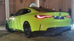 BMW M4 Competition, il posteriore