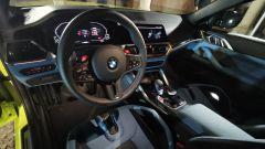 BMW M4 Competition, la plancia di comando