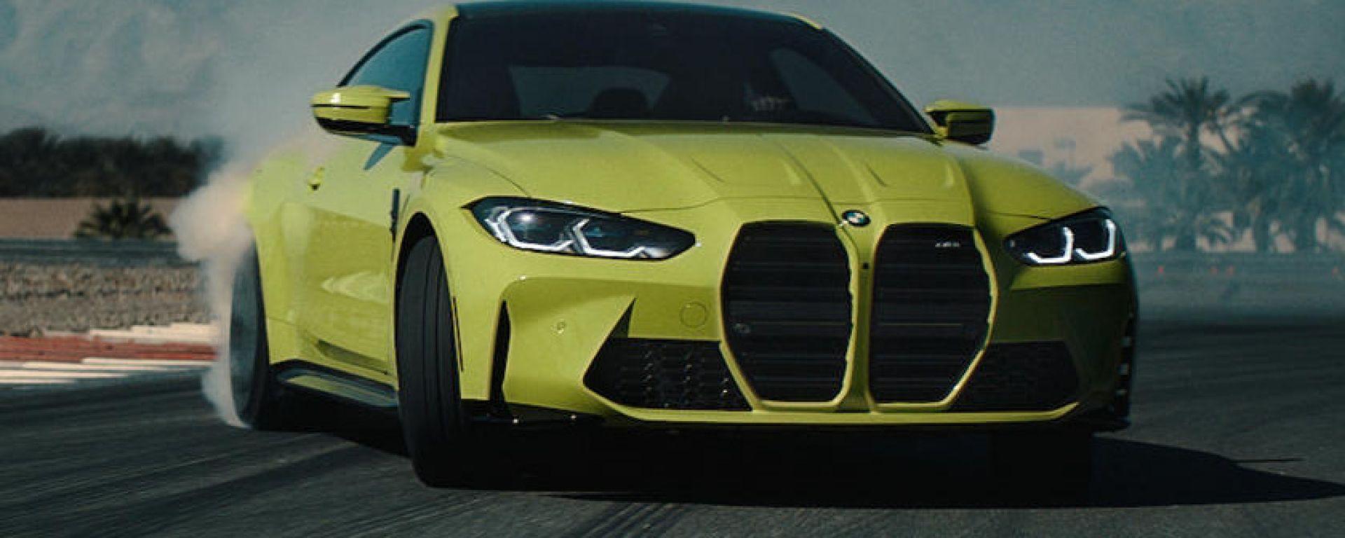 BMW M4 Coupé: in video come si fanno i drift