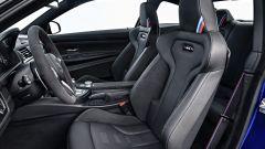 BMW M4 CS: dettaglio del posto guida