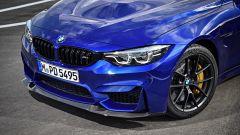 BMW M4 CS: dettaglio dello splitter anteriore