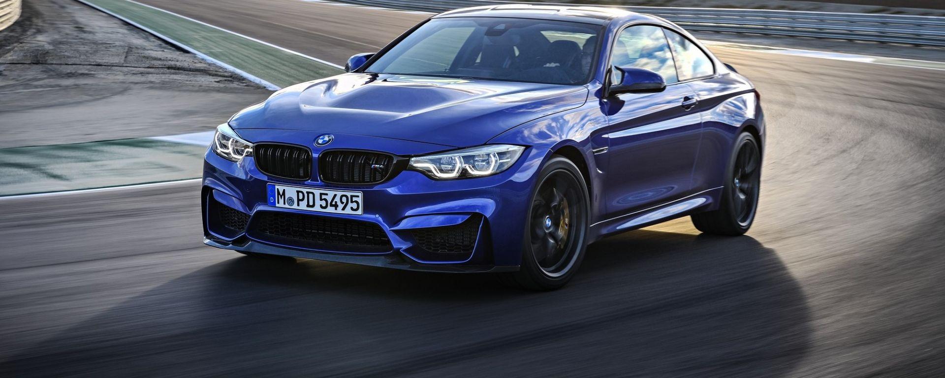 BMW M4 CS: foto, caratteristiche e prezzi in anteprima