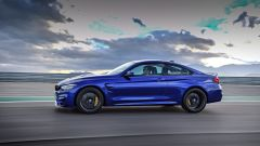 BMW M4 CS: vista laterale