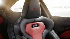 BMW M4 Edition Heritage: dettaglio sedili sportivi