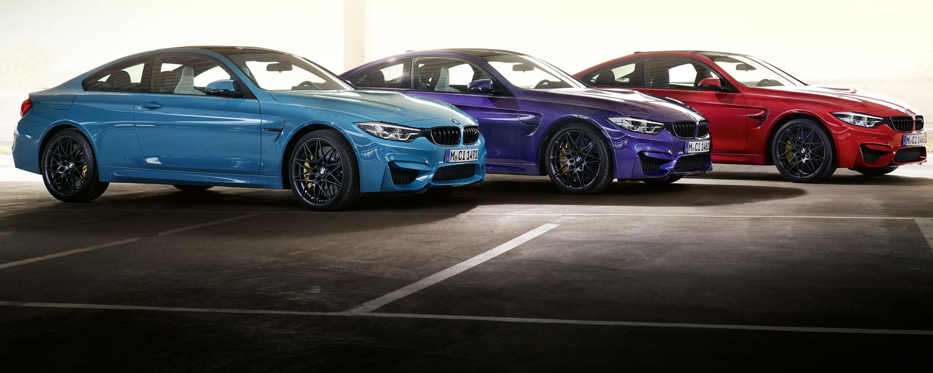 BMW M4 Edition Heritage: le tre colorazioni