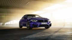 BMW M4 Edition Heritage: Velvet Blue Metallic