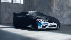 BMW M4 GT4, il teaser