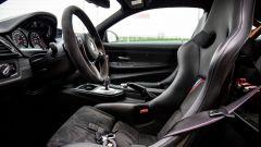 BMW M4 GTS: i sedili monoscocca in carbonio