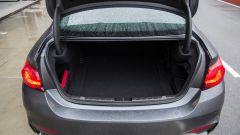 BMW M4 GTS: il bagagliaio ha un volume di 445 litri