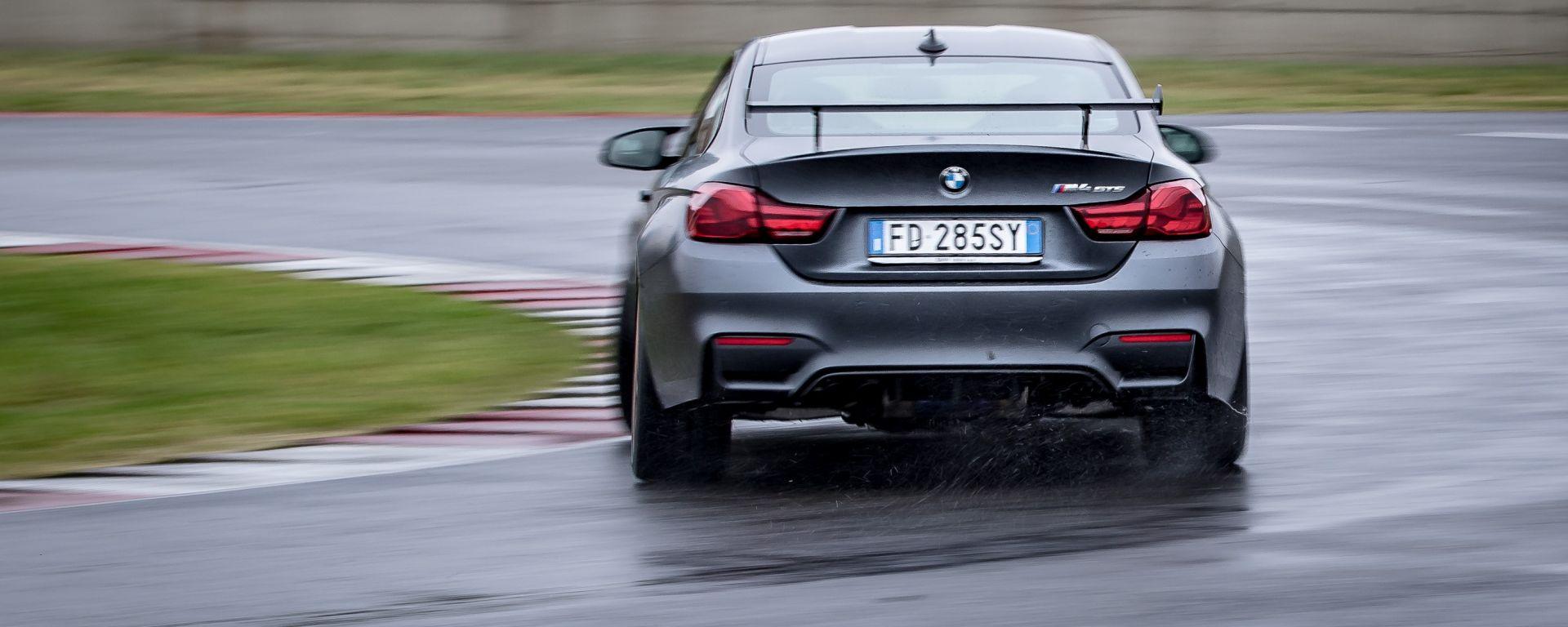 BMW M4 GTS: in pista con la belva