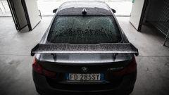 BMW M4 GTS: l'ala posteriore in carbonio è regolabile
