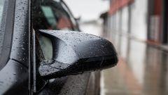 BMW M4 GTS: lo specchietto retrovisore aerodinamico