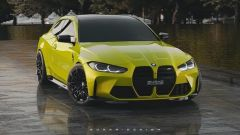 BMW M4 Shooting Brake, il render di Sugar Design