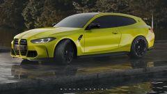M4 Shooting Brake vs Giulia Quadrifoglio Wagon, la sfida impossibile - Immagine: 3