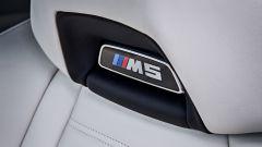 BMW M5 2017 First Edition: dettaglio del sedile