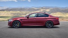 BMW M5 2017 First Edition: vista laterale