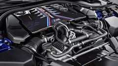 BMW M5 2017: il motore V8 da 600 CV