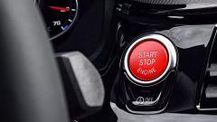 BMW M5 2017: il pulsante d'accensione