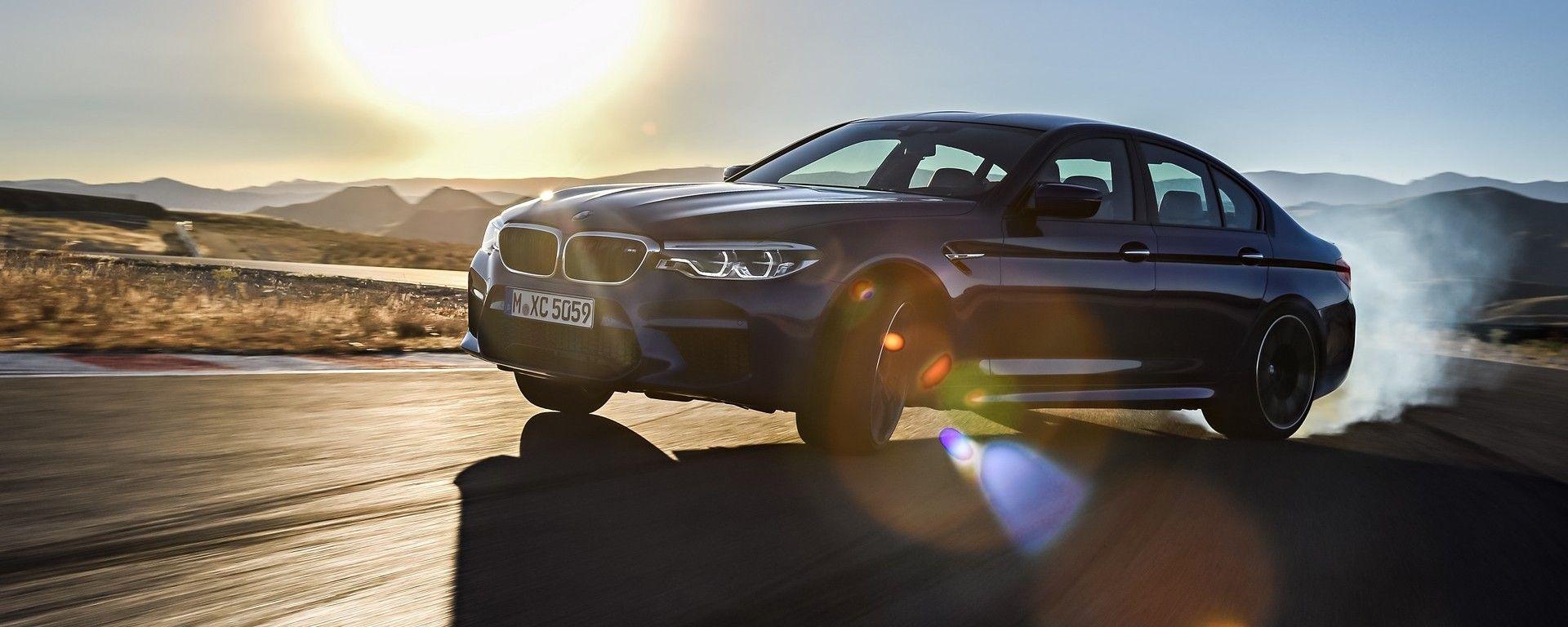 BMW M5 2017: la prova in pista a Vallelunga