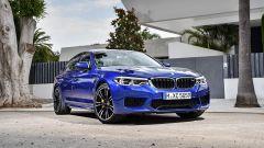 BMW M5 2017: vista 3/4 anteriore