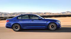 BMW M5 2017: vista laterale