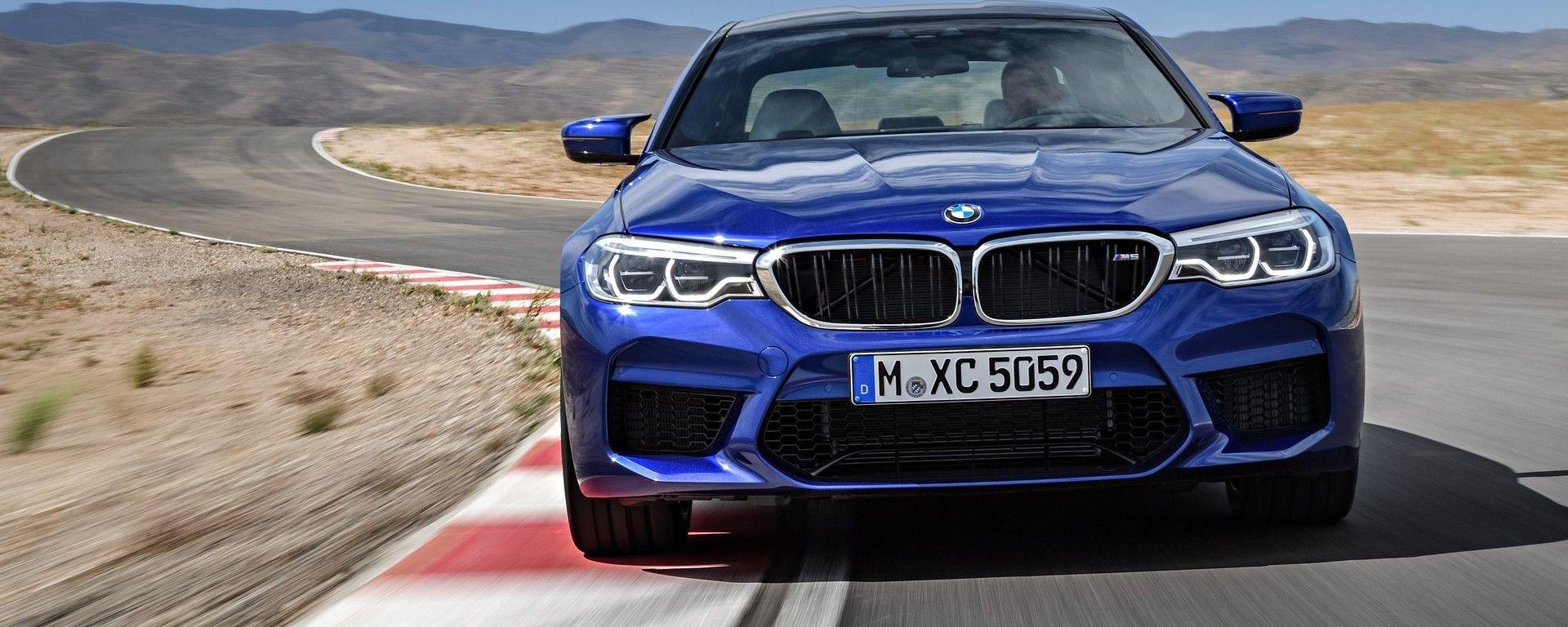BMW M5 2018 (F90): vista frontale
