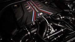 BMW M5 2021: il motore V8 biturbo longitudinale
