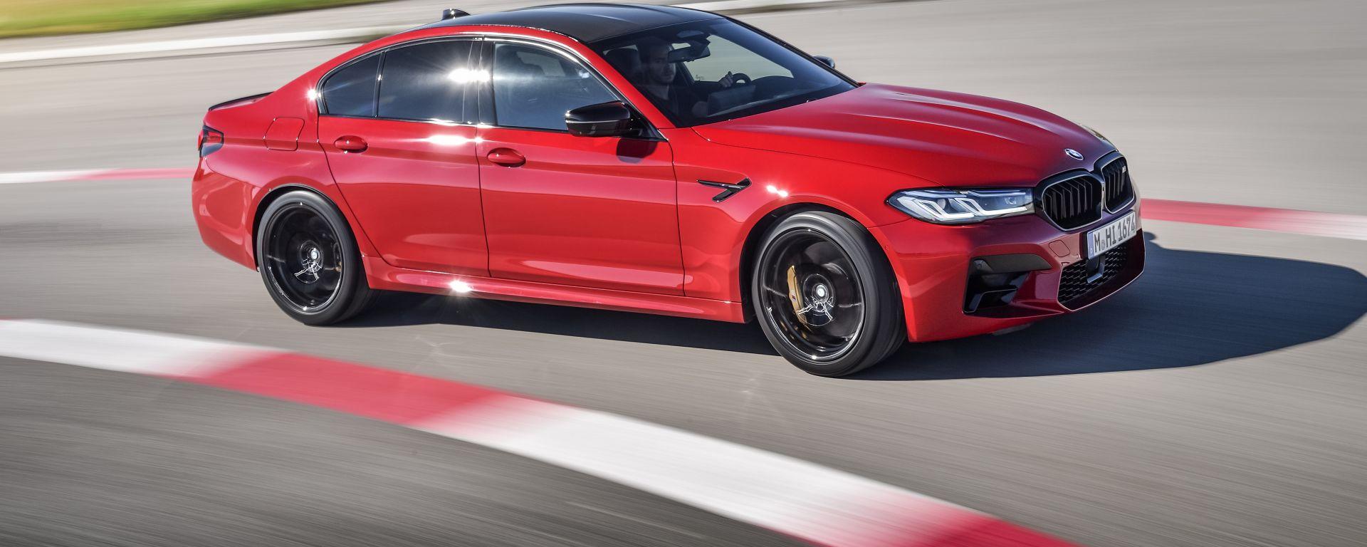 BMW M5 2021: proporzioni equilibrate e stile inconfondibile