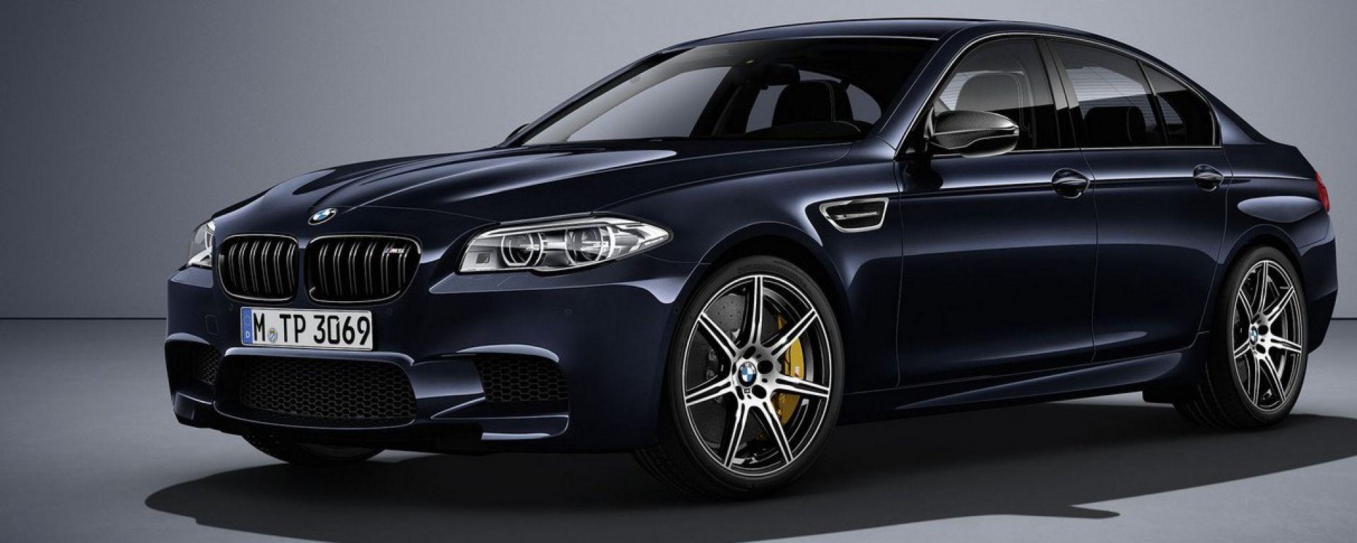BMW M5 Competition Edition: 200 esemplari da 600 cv