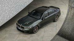 BMW M5 CS 2021, dall'alto