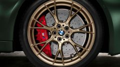 BMW M5 CS 2021, dettaglio del cerchio